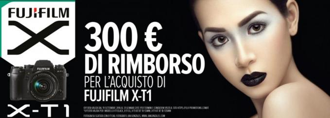 Rimborso 300€ cashback Fujifilm X-T1